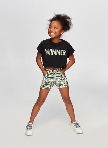 Tyess Tyess B&G Renkli Kız Çocuk Şort Renkli